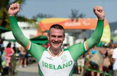 Ireland's Colin Lynch storms to Paralympic silver with stunning Time Trial performance