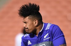 22-year-old Savea gets first All Blacks start for Springboks clash
