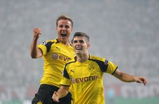 Borussia Dortmund ran riot against Dundalk's Champions League conquerers tonight