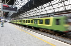The busiest train in Ireland is...