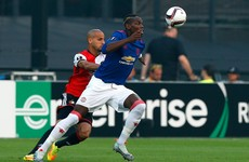 As it happened: Feyenoord v Man United, Europa League