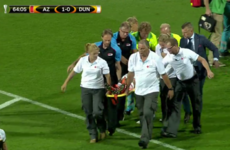 AZ goalscorer regains consciousness after worrying scenes in Dundalk match