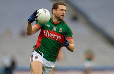 Mayo have made one change for Sunday's All-Ireland final against Dublin
