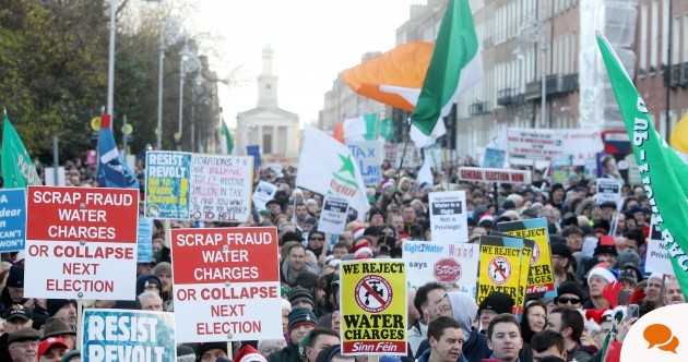 'Water charges would already be abolished, if we had a functioning democracy'