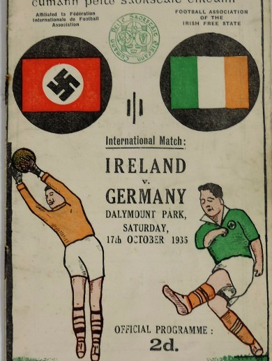 A Nazi programme and GAA medals are among pieces of Irish history soon to go on sale