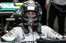 Nico Rosberg takes Singapore pole with Sebastian Vettel to start last
