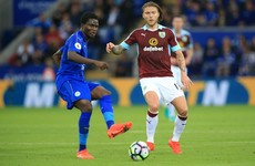 Hendrick can't prevent Burnley defeat on first league start as Leicester record signing shines