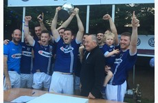 St Gall's claim the Volkswagen Senior Football 7s after thrilling climax