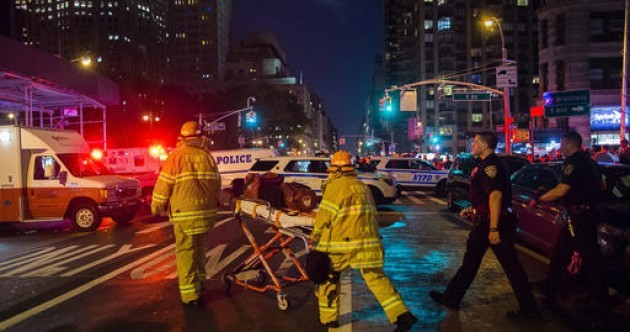 29 people injured after 'intentional' explosion in New York neighbourhood