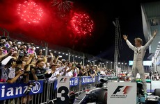 Nico Rosberg regains championship lead after third consecutive win