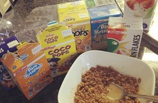 8 important feelings every Irish kid had about cereal variety packs