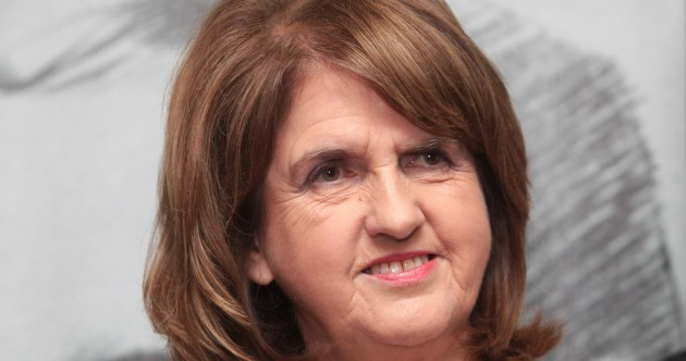"""I worried what will happen if they manage to open the car doors"" - Joan Burton"