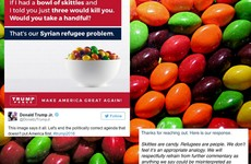 Skittles gave the best response to the Trump campaign's 'poisonous' refugee comparison