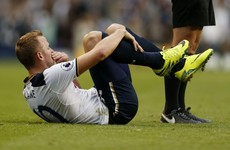 Harry Kane faces two-month spell on the sidelines as Tottenham await scan results