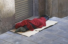 At least 168 people were sleeping rough in Dublin last night