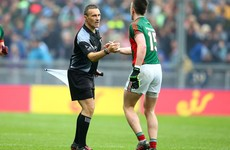 Maurice Deegan will take charge of the All-Ireland football final replay