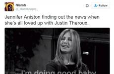 Jennifer Aniston jokes are totally dominating Twitter after the news of Brangelina's split