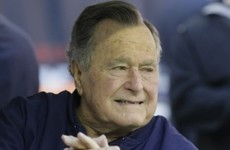 Quite a few people heard George HW Bush say he'd vote for Clinton