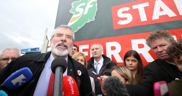 Gerry Adams rejects claims that he sanctioned murder of IRA double agent