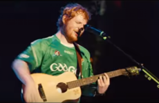 Ed Sheeran wears a GAA jersey in the new Bridget Jones film