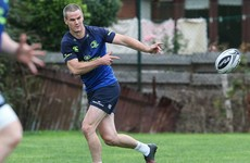 Heeeeeeeere's Johnny! Sexton named for first Leinster start of the season