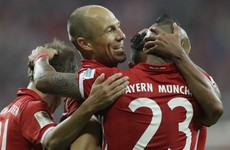 A couple of veterans rolled the years back for Bayern Munich last night