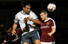 Northampton defender claims Ibrahimovic talks like The Terminator