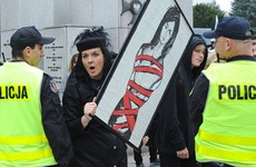 Poland pushes ahead with near-total ban on abortion