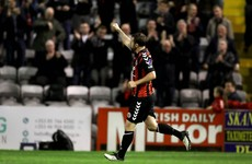 Kurtis Byrne on target again as Bohs secure narrow victory over Longford