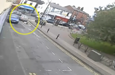 Video shows driver 'callously' flee after reversing into an elderly woman