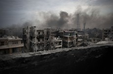 At least 25 dead as air strikes pound Syrian city of Aleppo