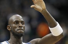 Kevin Garnett says 'farewell' after 21 seasons in the NBA