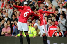 With Wayne Rooney dropped, Pogba and United impress in thumping Leicester win