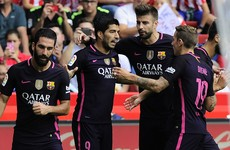 No Messi, no problem as rampant Barcelona thrash Sporting Gijon