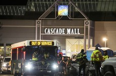 Gunman who killed five at shopping centre arrested - but police say no terrorist links