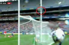 Controversy in Croke Park as Dublin 'point' waved wide by the umpire