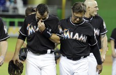 A night of wrenching emotion as Miami Marlins players pay tribute to team-mate Jose Fernandez