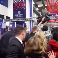 Everyone is loving this Vine of a reporter furiously saying, 'Thanks a lot, bitch!' at the debate