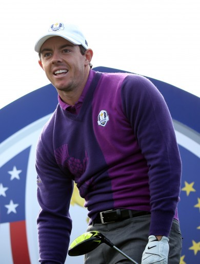 'Rory's a wonderful young man and an unbelievable golfer. He's hugely inspirational'