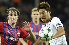 Son's second-half goal secures crucial Champions League away win for Tottenham