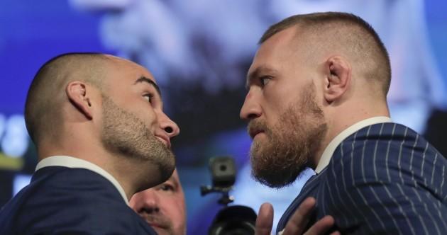 McGregor predicts first-round KO of 'broke bum' Alvarez at Madison Square Garden