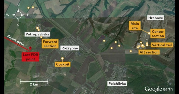 Prosecutors: Russian-armed rebels shot down flight MH17, killing all 298 people on board