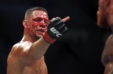 Nate Diaz's message to Dana White: 'Get off Conor's nuts'