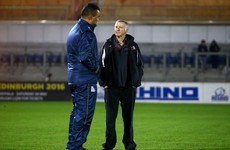 Upheaval at Edinburgh as head coach resigns days before Connacht clash