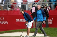 Horan, O'Connell, Phelps and Shevchenko take to the fairways for Ryder Cup celebrity scramble