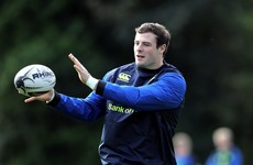 Henshaw hoping to prove fitness fast enough to make Leinster debut against Munster