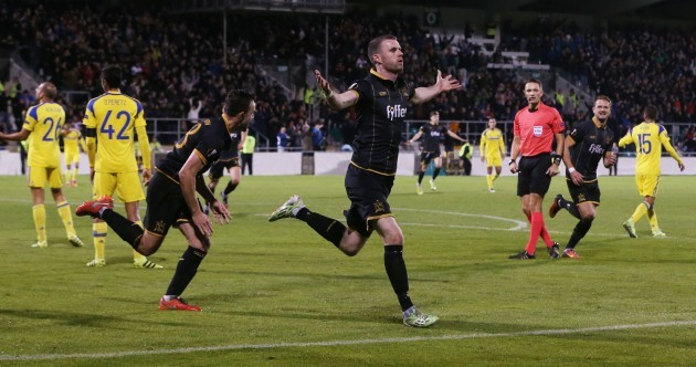 Birthday boy Kilduff pounces again as Dundalk take their biggest European scalp yet