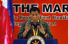 'I'd be happy to slaughter them': Phillipines president likens himself to Hitler