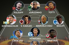 Kilduff named alongside Totti in Uefa's Europa League Team of the Week