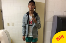 The greatest friend ever wore his pal's 'booty shorts' so she could take an exam